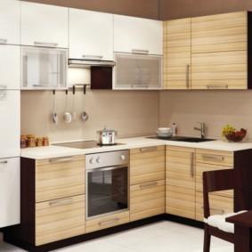 материалы для кухонного гарнитура идеи оформление