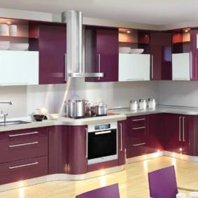 материалы для кухонного гарнитура идеи вариантов