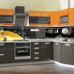 материалы для кухонного гарнитура идеи видов