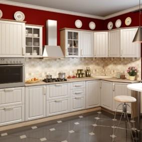 материалы для кухонного гарнитура оформление фото