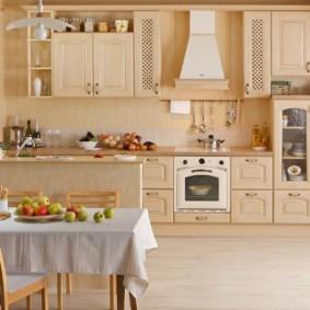 материалы для кухонного гарнитура оформление идеи