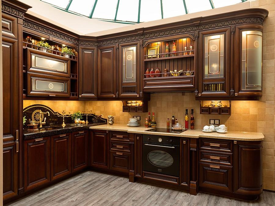 материалы для кухонного гарнитура оформление