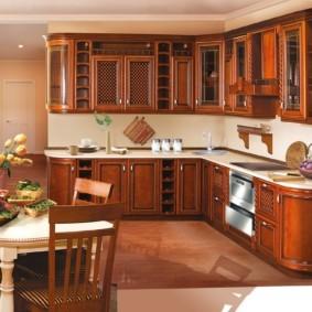 материалы для кухонного гарнитура варианты фото
