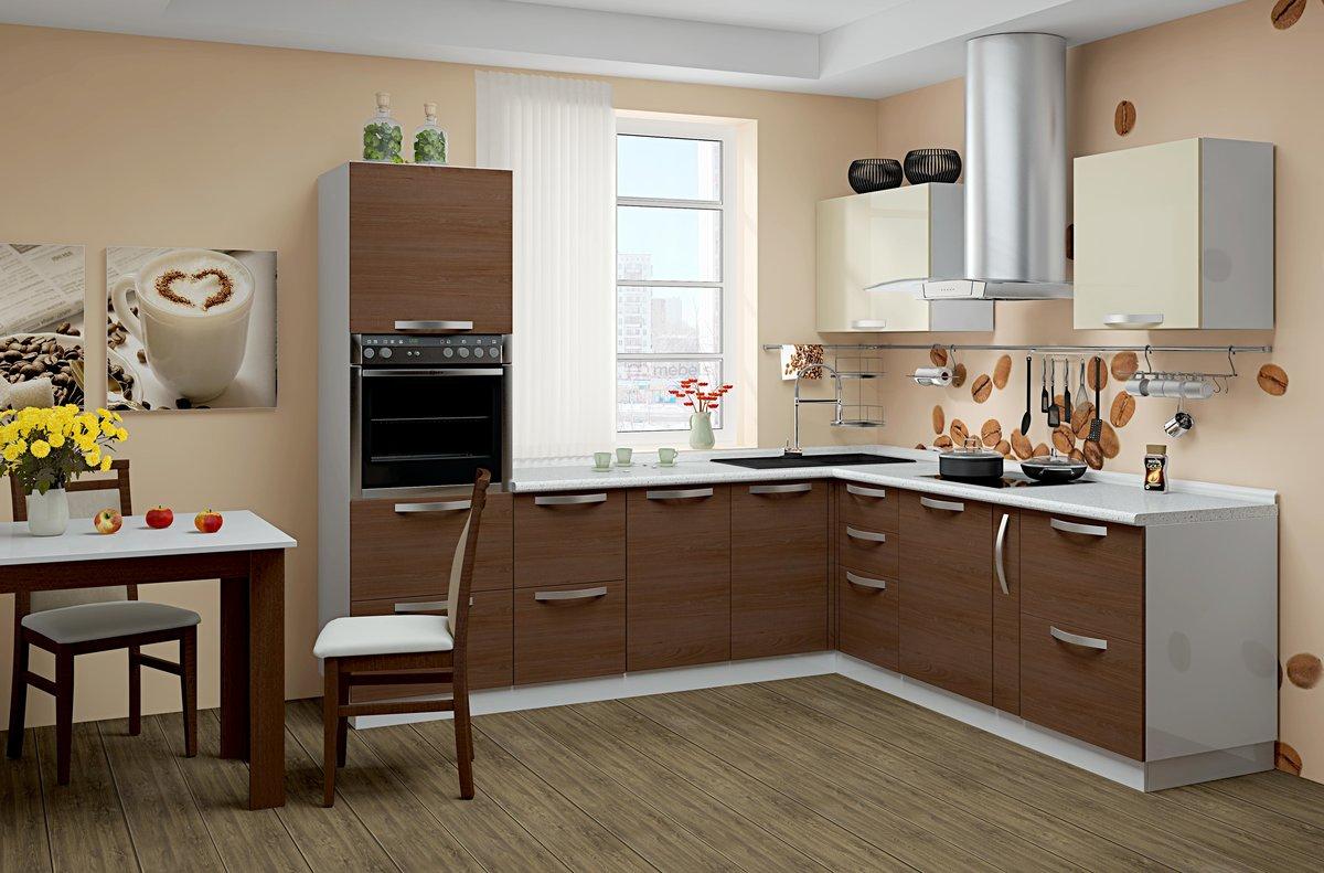 материалы для кухонного гарнитура виды идеи