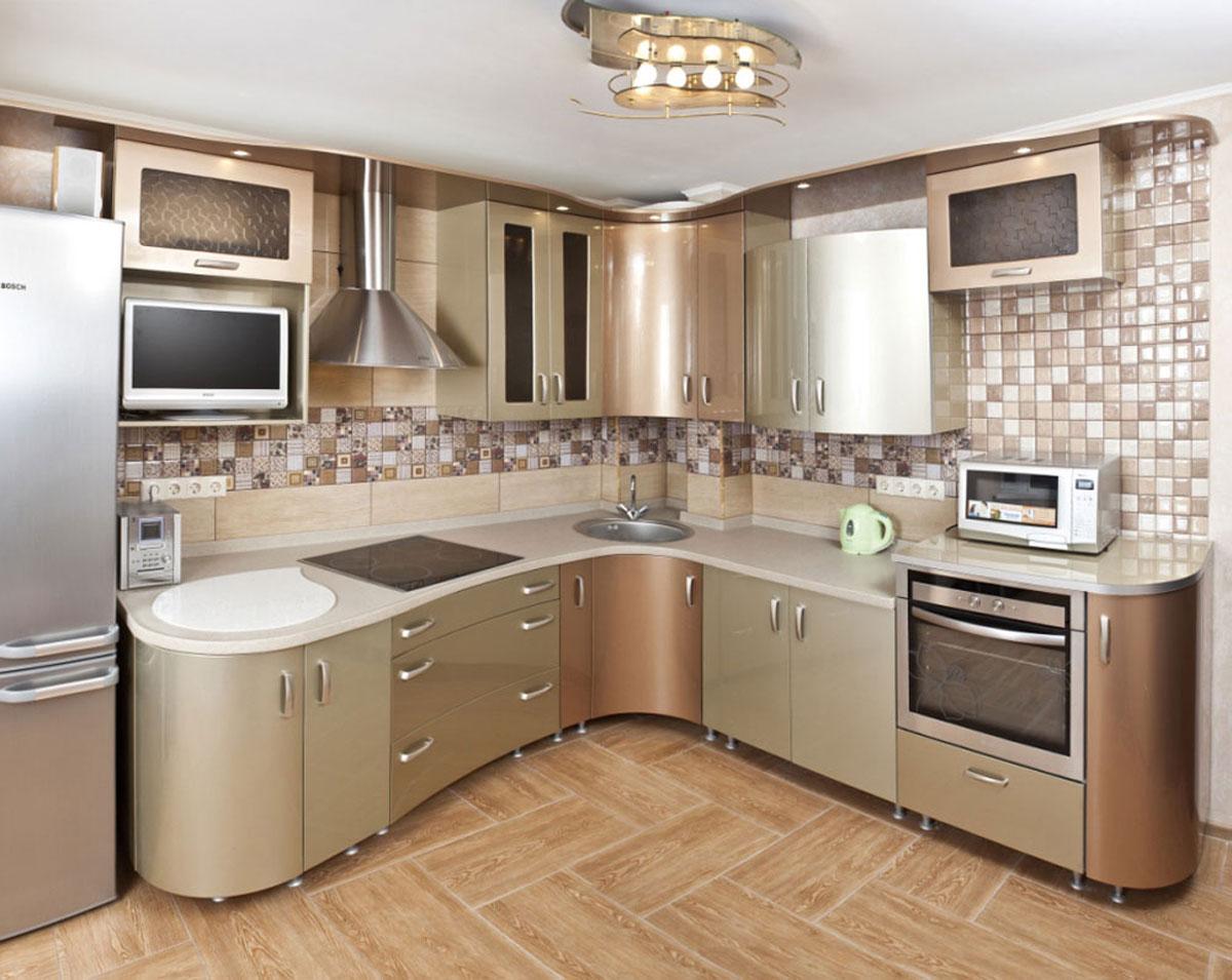 материалы для кухонного гарнитура виды