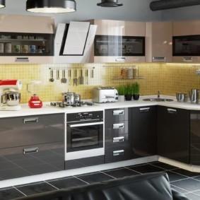 кухня в 2019 году материалы