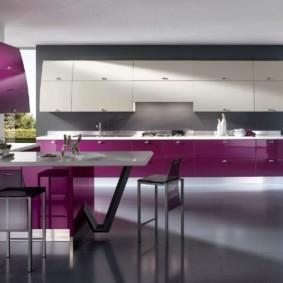материалы для кухонного гарнитура дизайн идеи