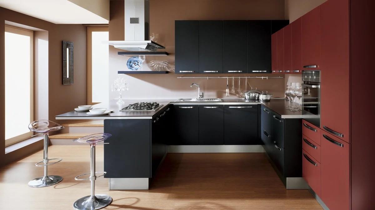 материалы для кухонного гарнитура дизайн