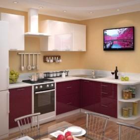 материалы для кухонного гарнитура идеи