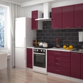 материалы для кухонного гарнитура идеи фото