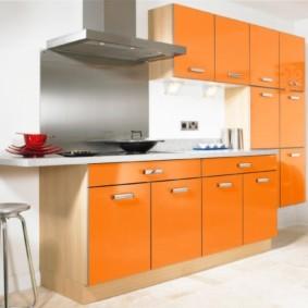 материалы для кухонного гарнитура идеи интерьер