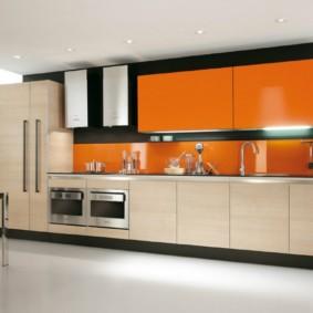материалы для кухонного гарнитура интерьер