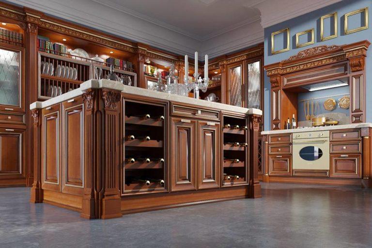 материалы для кухонного гарнитура интерьер идеи