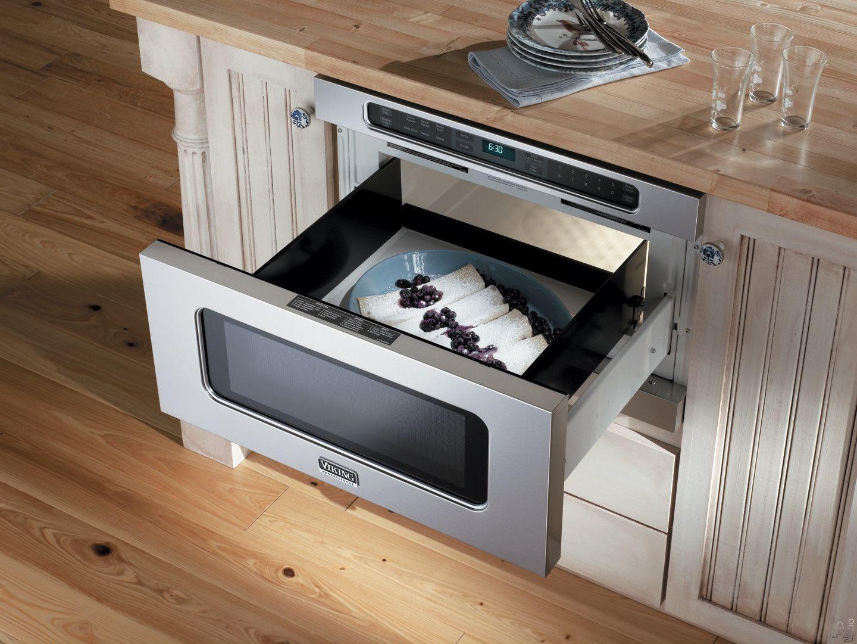 микроволновка выдвижная на кухне