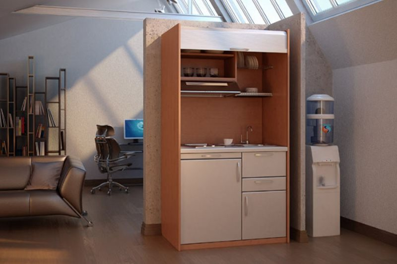 Мини-кухня в офисе крупной компании