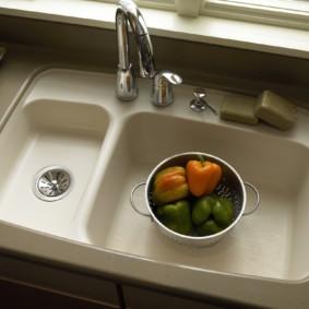 мойка для кухни фото дизайн