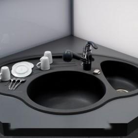 мойка для кухни оформление фото
