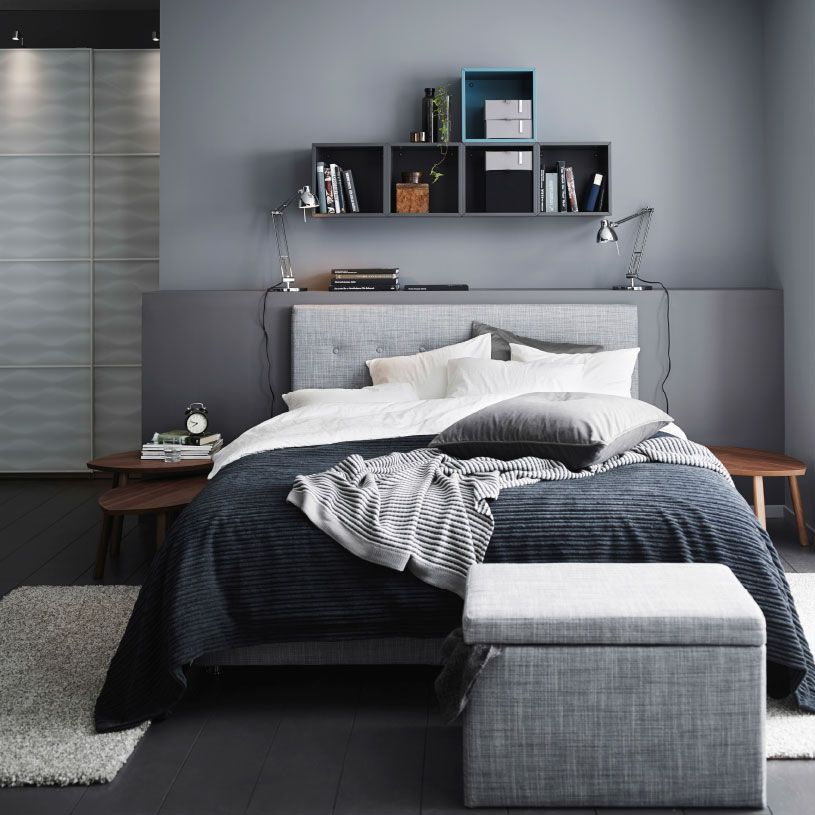 мужская спальня декор идеи