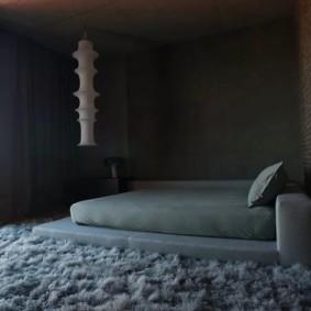 мужская спальня фото декора