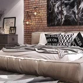 мужская спальня фото вариантов