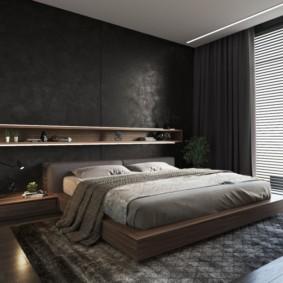 мужская спальня фото варианты