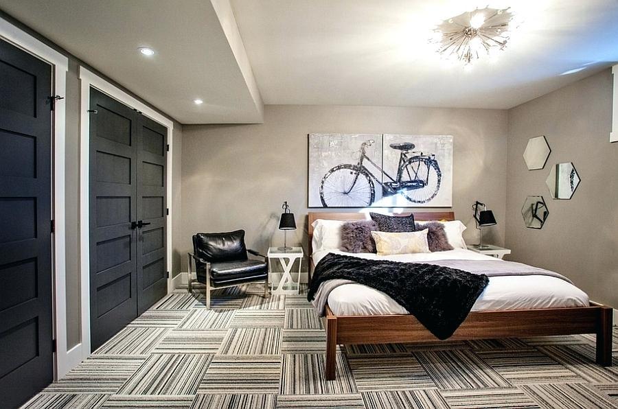 мужская спальня идеи декора