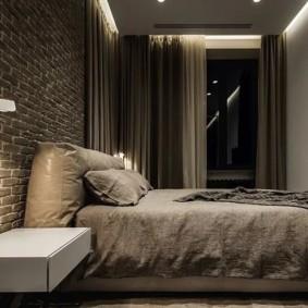 мужская спальня идеи оформление