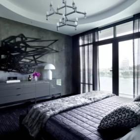 мужская спальня идеи варианты