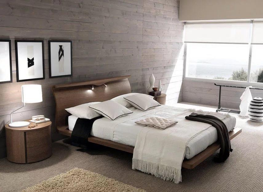 мужская спальня интерьер фото