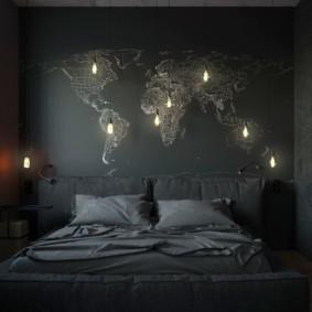 мужская спальня виды фото