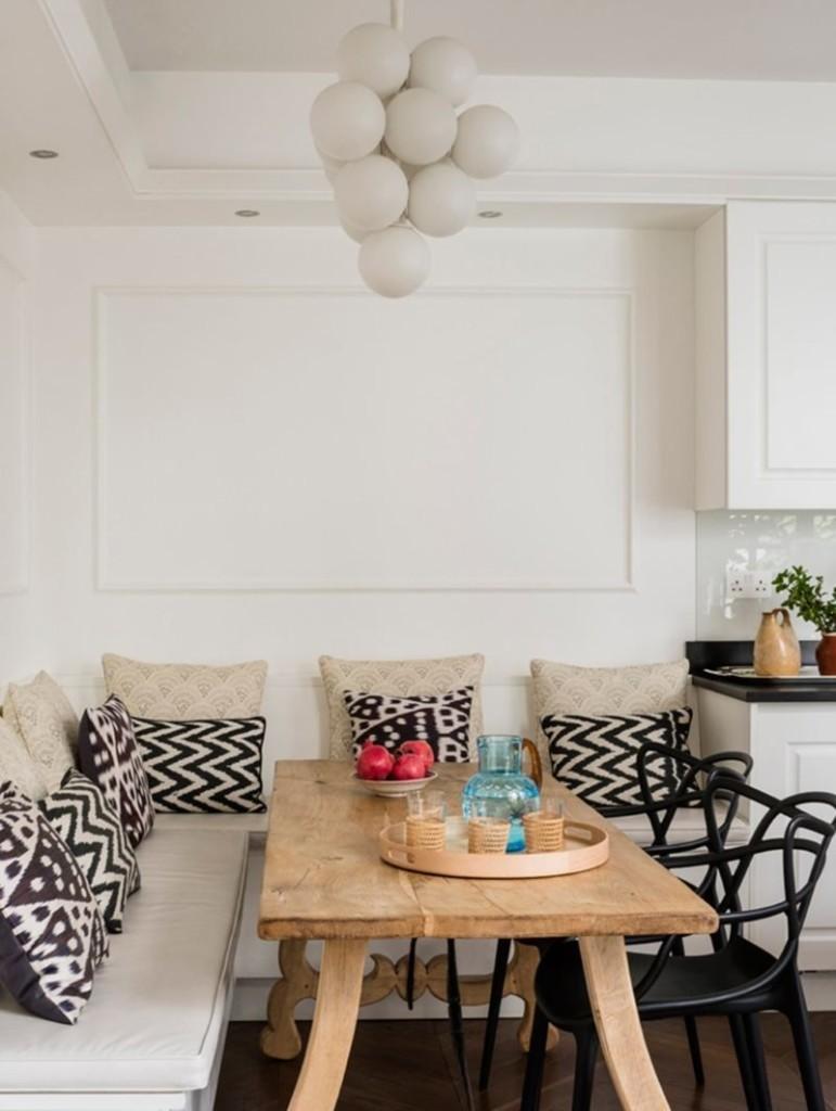 Обустройство обеденной зоны в кухне однушки