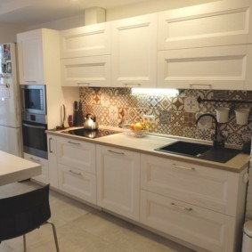напольная плитка для кухни и коридора
