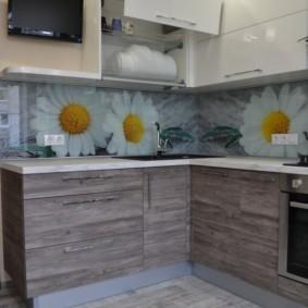 напольная плитка для кухни и коридора фото