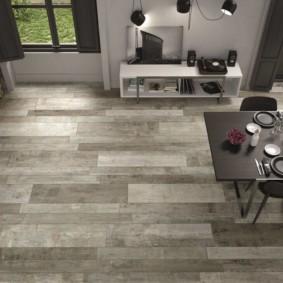 напольная плитка для кухни и коридора идеи декор