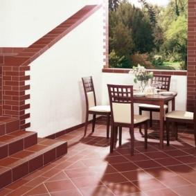 напольная плитка для кухни и коридора идеи декора