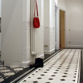 напольная плитка для кухни и коридора идеи дизайна