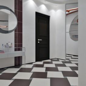 напольная плитка для кухни и коридора идеи оформление