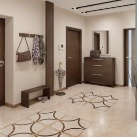 напольная плитка для кухни и коридора варианты идеи