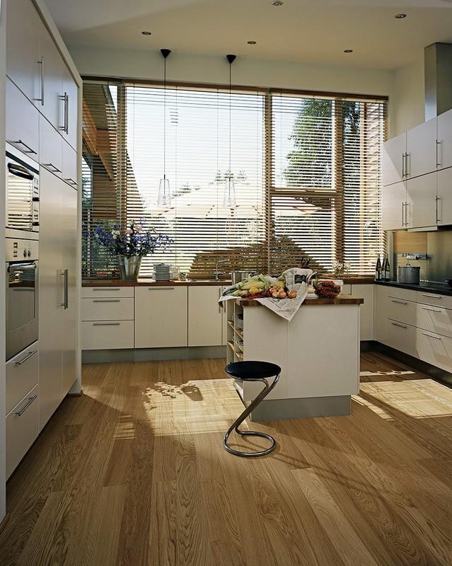 напольное покрытие для кухни интерьер идеи