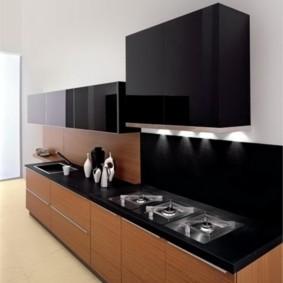 напольное покрытие для кухни виды дизайна