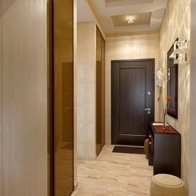 натяжной потолок в коридоре дизайн фото