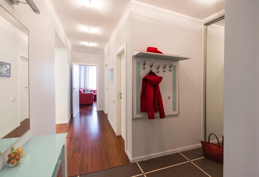 натяжной потолок в коридоре идеи дизайна