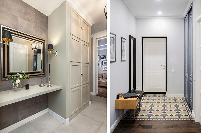 стиль неоклассика в интерьере квартиры декор
