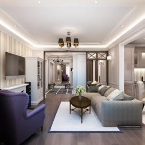 стиль неоклассика в интерьере квартиры фото дизайна