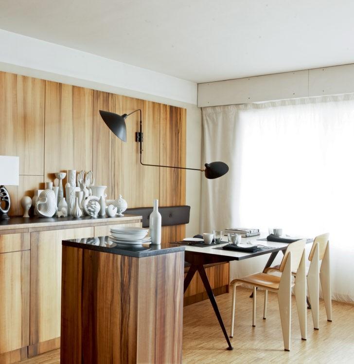 Обеденная зона кухни в современном стиле