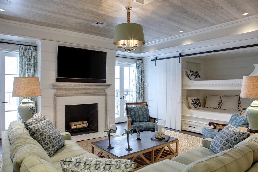 однокомнатная квартира с кроватью и диваном фото дизайн
