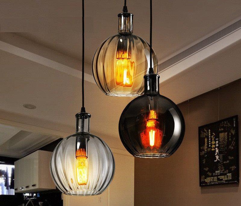 Декор кухни самодельными светильниками