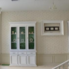 отделка квартиры под декоративный кирпич виды декора