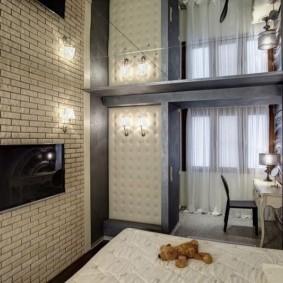 отделка квартиры под декоративный кирпич виды дизайна