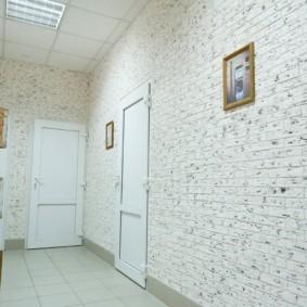 отделка квартиры под декоративный кирпич оформление идеи